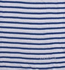 条纹 针织 横条 高弹 棉感 春秋 T恤 针织衫 连衣裙 80905-43