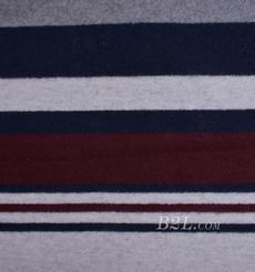 毛纺 条纹 定位 色织 低弹 大衣 外套 女装 80705-10