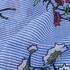 印花 梭织 花朵 条纹 无弹 女装 连衣裙 短裙 春夏秋 71125-42
