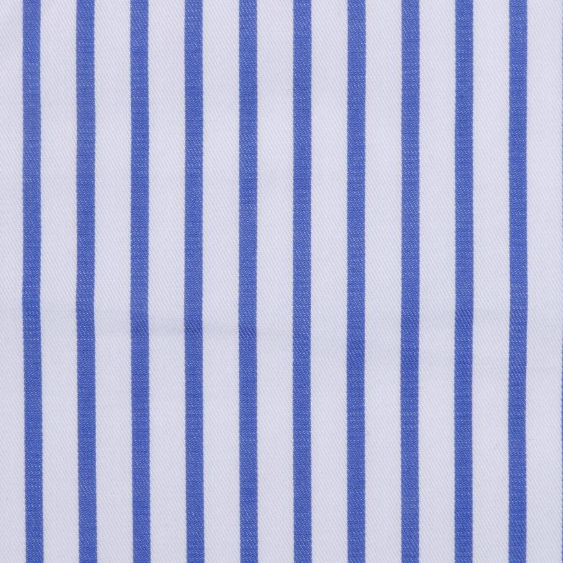 斜纹 条子 梭织 色织 低弹 衬衫 连衣裙 短裙 棉感 柔软 细腻 现货 全棉  男装 春夏秋 71028-63