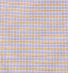 现货斜纹格子梭织色织 低弹休闲时尚风格衬衫连衣裙 短裙 棉感 60929-35