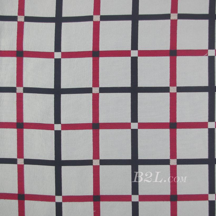 格子 提花 色织 女装 外套 连衣裙 春秋 60626-16