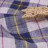 格子 梭织 色织 无弹 休闲时尚风格 衬衫 连衣裙 短裙 麻感 薄 棉麻色织布 春夏秋 60929-123