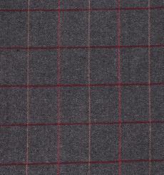 格子 呢料 柔軟 羊毛 大衣 外套 女裝 70810-17