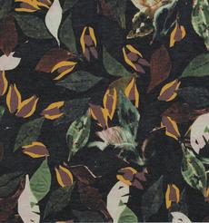 期货 印花 叶子 连衣裙 衬衫 女装 60804-33