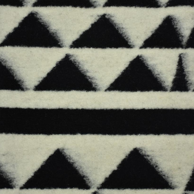 几何 呢料 柔软 羊毛 大衣 外套 女装 60803-42