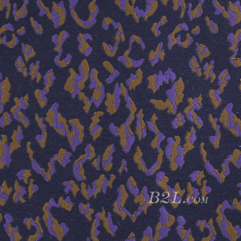 梭织 提花 色织 豹点 无弹 连衣裙 外套 春秋 71202-20