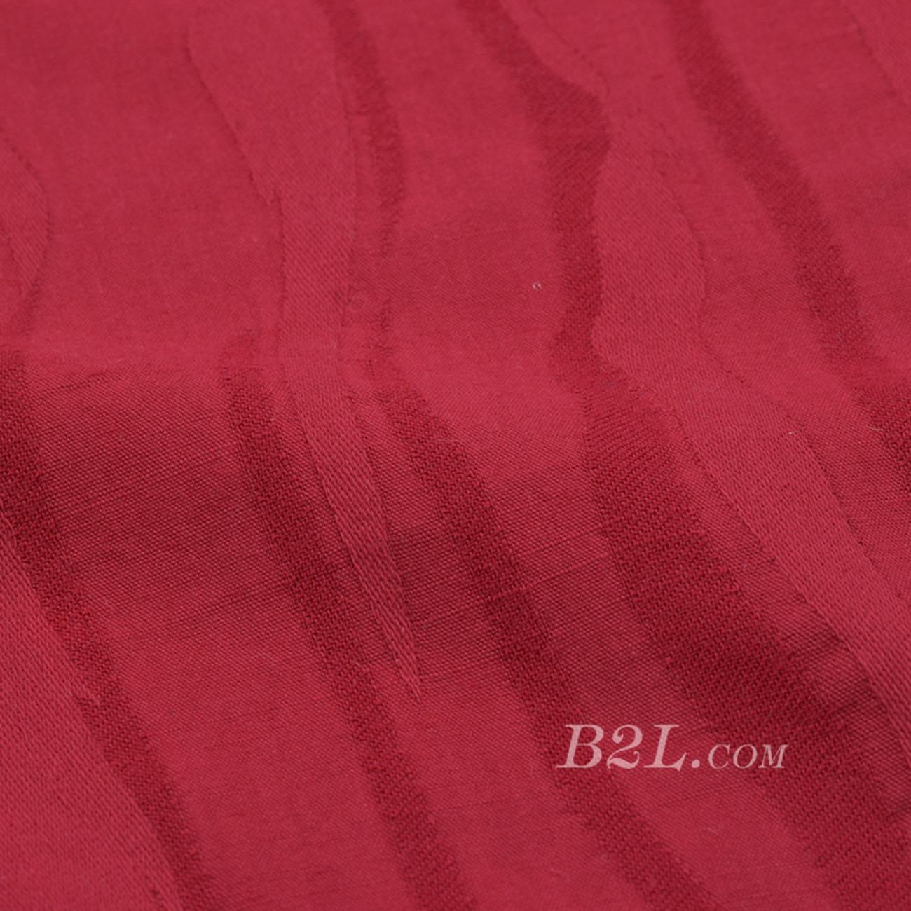 素色 梭織 低彈 幾何 全棉 連衣裙 襯衫 女裝  80604-32