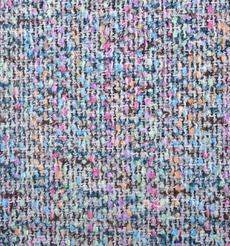 毛纺 梭织 染色 小香风 条纹 秋冬 大衣 时装 91018-26