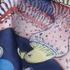 印花 梭织 凤凰 无弹 3D 纱感 女装 连衣裙 短裙 春夏秋 71125-5