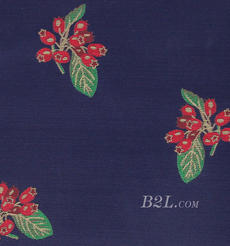 花朵 提花 色织 女装 外套 大衣 春秋 60401-70