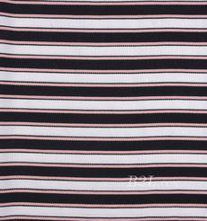 条纹 针织 横条 高弹 棉感 春秋 T恤 针织衫 连衣裙 80905-19