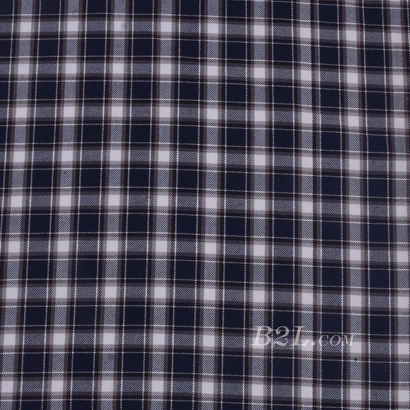 格子 棉感 色织 斜纹 外套 衬衫 上衣 70622-210