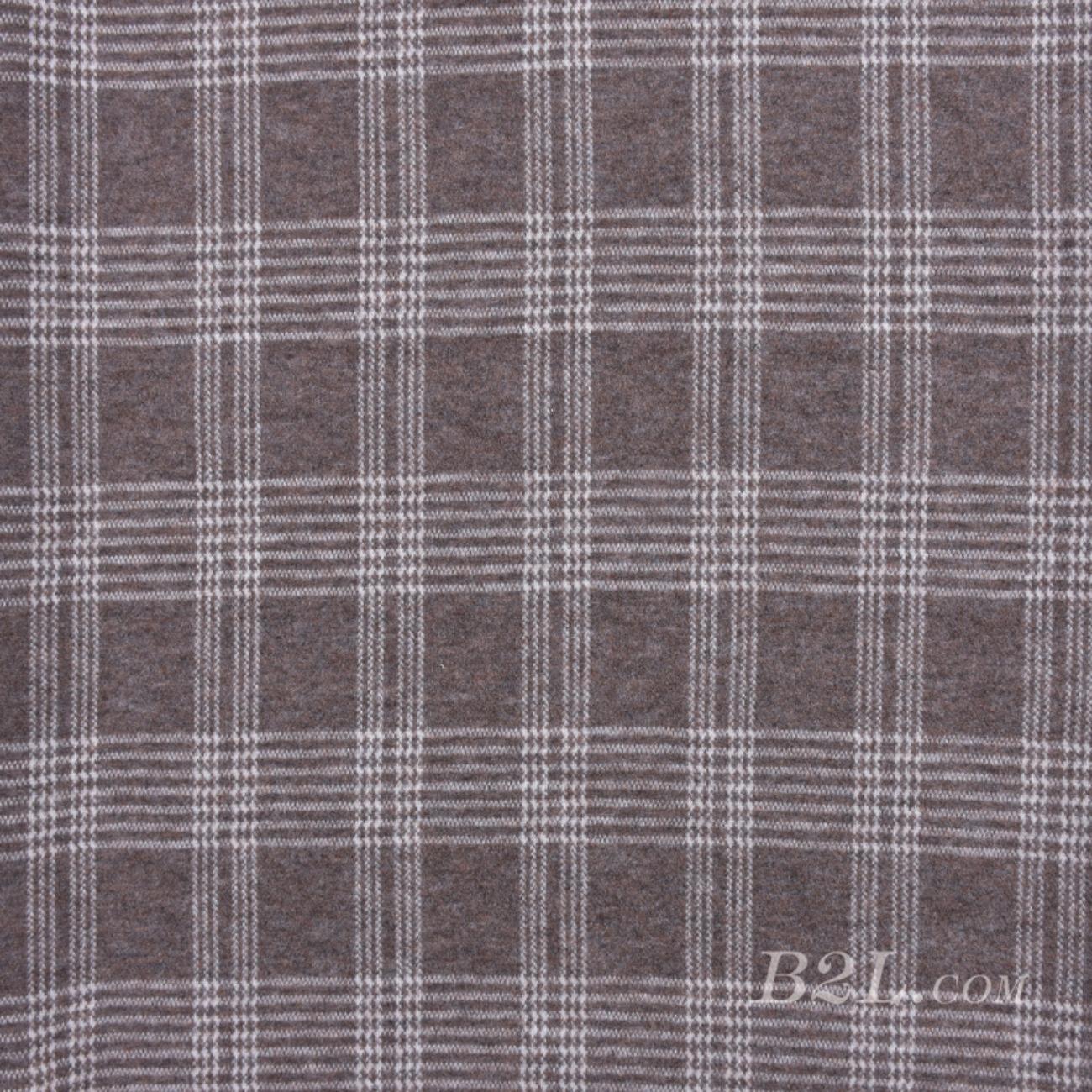 针织染色毛纺格子面料-春秋冬外套连衣裙大衣夹克面料Z758
