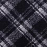 格子 针织 单面 四面弹 大衣 外套 柔软 细腻 绒感 男装 女装 童装 秋冬 毛料 羊毛 71019-1