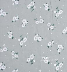 印花 梭织 染色 低弹 花朵 植物 薄 春秋 连衣裙 时装 90311-28