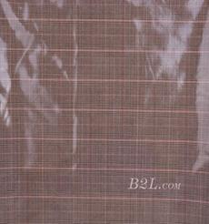 格子 梭織 色織 PU復合 低彈 春秋 大衣 外套 女裝 80714-15