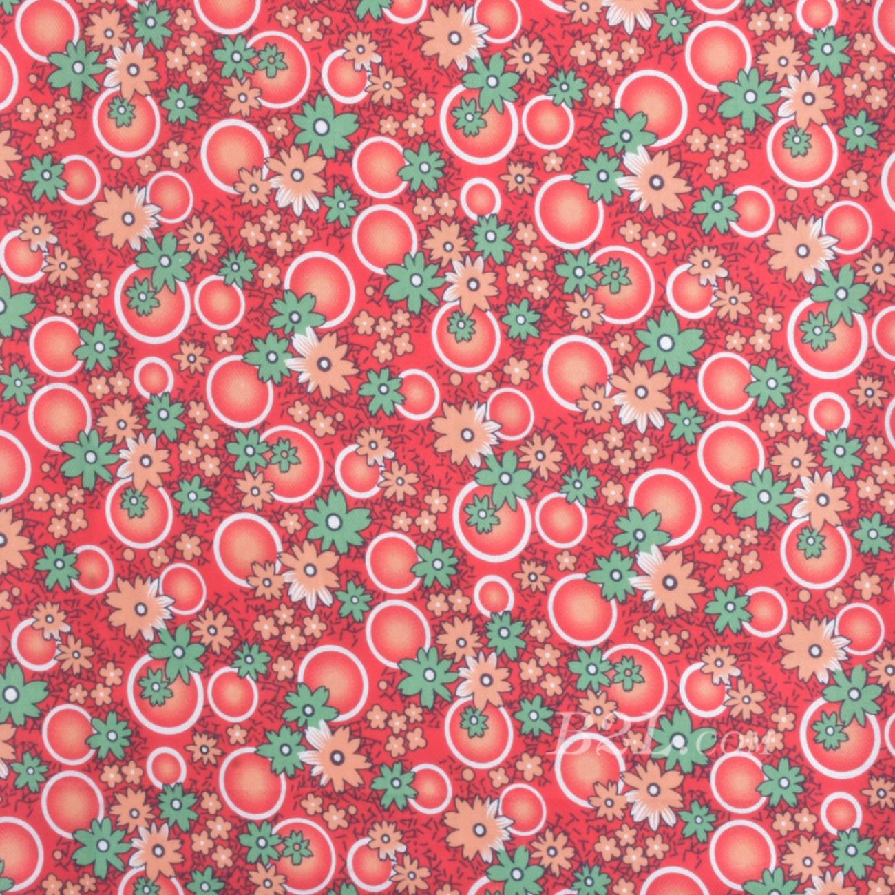 梭织染色数码印花面料-春夏连衣裙半身裙面料90619-6