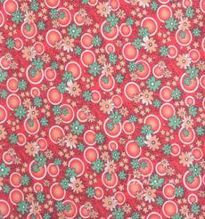 梭織染色數碼印花面料-春夏連衣裙半身裙面料90619-6