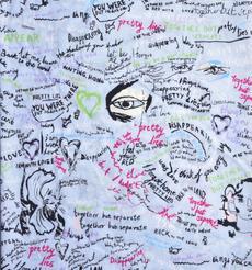 印花 梭织 染色 无弹 字母 抽象 春夏 衬衫 连衣裙 90910-19