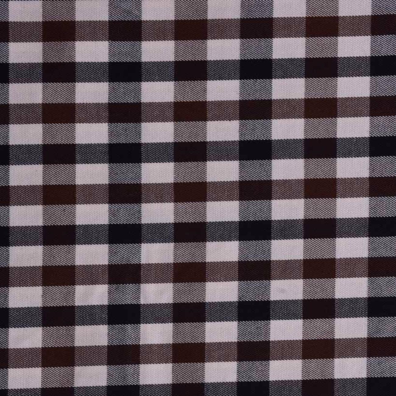 现货斜纹格子苏格兰格梭织色织低弹休闲时尚风格 衬衫 连衣裙 短裙 棉感 60929-7