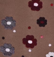 花朵 呢料 柔軟 羊毛 大衣 外套 女裝 70315-20