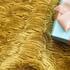 韩国绒 素色 针织 全涤 染色 波浪 压绉 柔软 钉珠 绒感 半身裙 连衣裙 女装 春秋 71113-5