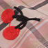 樱桃 格子 色织 梭织 绣花 微弹 连衣裙 衬衫 女装 童装 春秋 71227-55