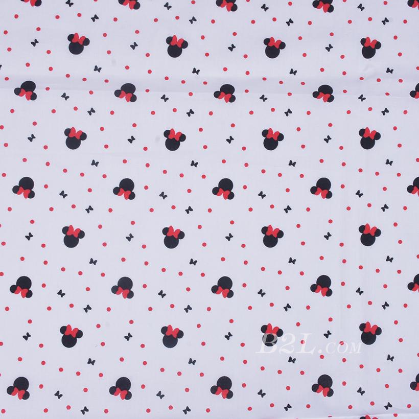 期货 印花 全棉 梭织 米老鼠 棉感 低弹 连衣裙 薄 衬衫 四季 女装 童装 80302-30