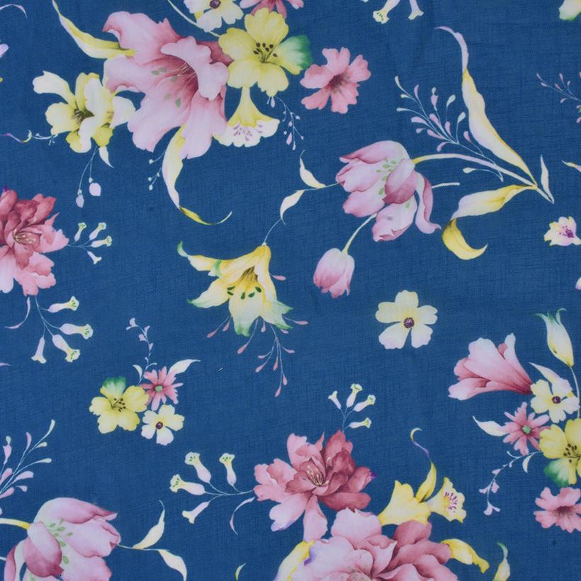 花朵 期货 梭织 印花 连衣裙 衬衫 短裙 薄 女装 春秋 60621-140