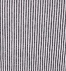 條子 梭織 色織 無彈 休閑時尚風格 襯衫 連衣裙 短裙 棉感 薄 棉麻色織布 春夏秋 60929-103