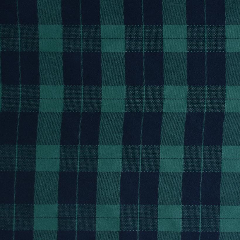 格子 梭织 色织 无弹 衬衫 外套 连衣裙 柔软 细腻 男装 女装 春秋 期货 70410-100