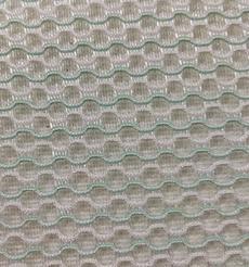 双色圆孔纹3d网眼布