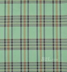 格子 梭织 色织 斜纹 无弹 春秋 女装 时装 连衣裙90826-25