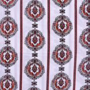 人棉期貨條紋梭織印花無彈襯衫連衣裙 短裙 薄 棉感 70522-59