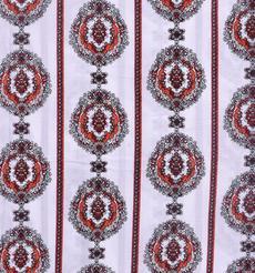 人棉期货条纹梭织印花无弹衬衫连衣裙 短裙 薄 棉感 70522-59