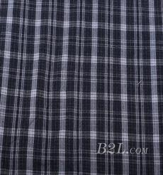 梭织 格子 棉感 色织 斜纹 无弹 外套 大衣 连衣裙 期货 60620-7