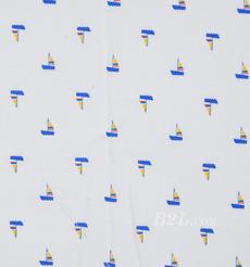 期货 印花 全棉 梭织 小船 棉感 低弹 薄 连衣裙 衬衫 四季 女装 童装 80302-25