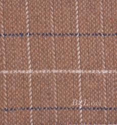 毛紡 格子 色織 提花 無彈 秋冬 大衣 外套 女裝 80715-8