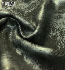 广德隆TJ854 涤氨弹力空气层麂皮绒秋冬保暖烫金面料 家庭装饰台布桌布坐垫沙发 礼服裙子裤子外套上衣靴子帽子箱包手袋