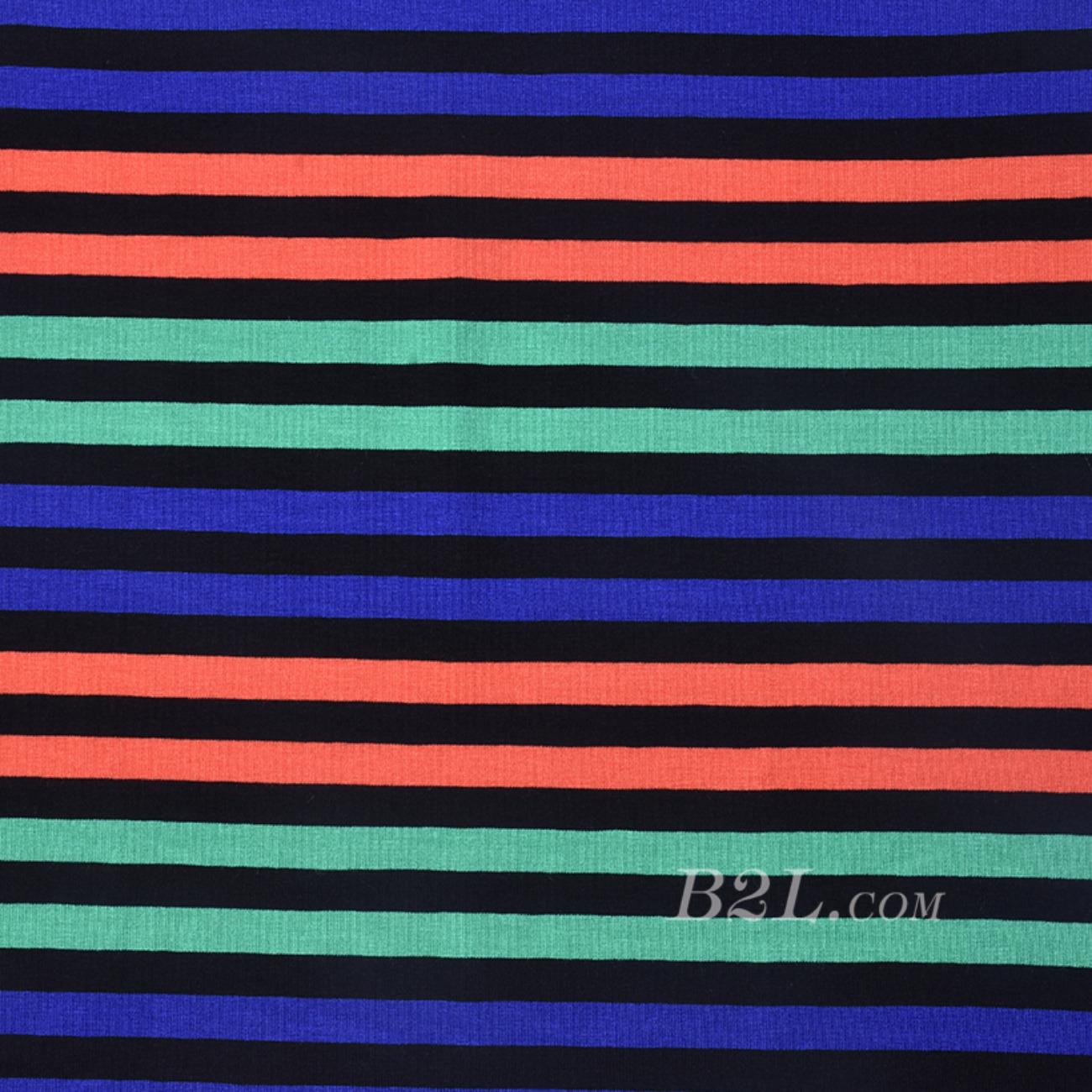 条子 针织 弹力 横条 圆机 纬编 T恤 针织衫 连衣裙 棉感 定位 期货 60312-101