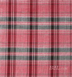 格子 棉感 色织 平纹 外套 衬衫 上衣 70622-13