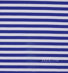 条子 横条 圆机 针织 纬编 T恤 针织衫 连衣裙 棉感弹力 80609-77