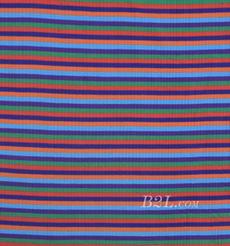 针织染色条纹面料-春秋连衣裙卫衣针织衫外套面料80905-31
