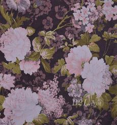 花朵 棉感 印花 平紋 外套 上衣 短裙 60625-3