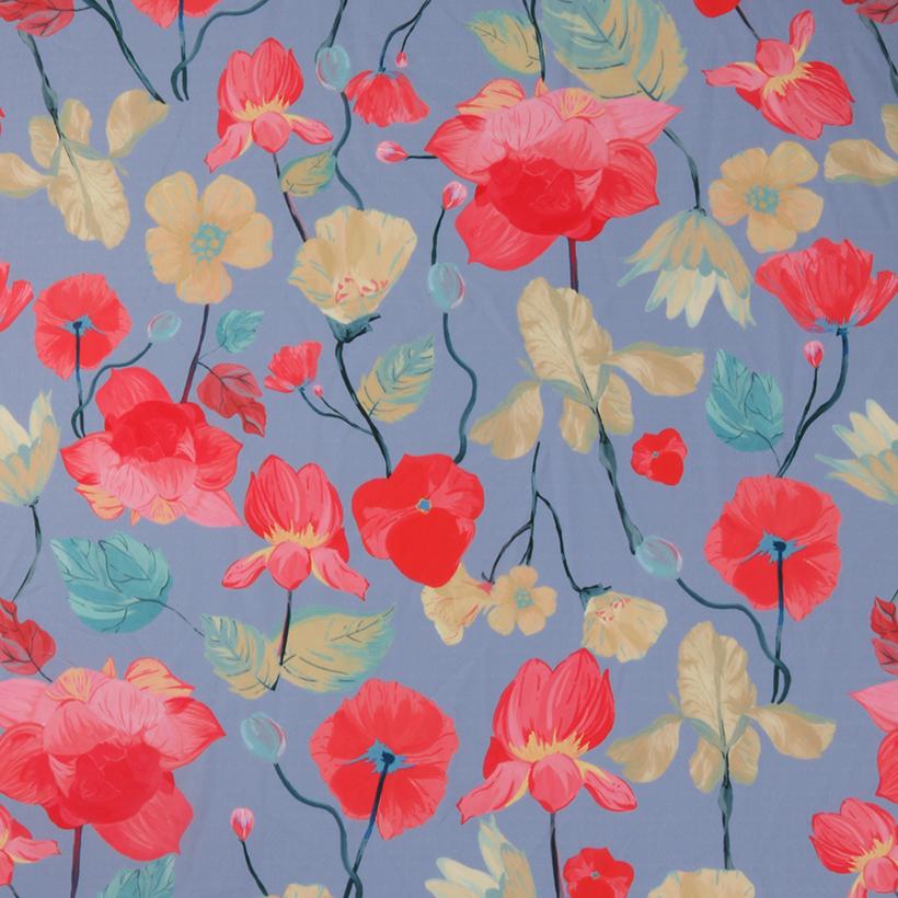 花朵 期货 梭织 印花 连衣裙 衬衫 短裙 薄 女装 春夏秋 60621-173