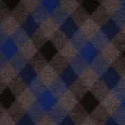菱形 呢料 柔软 羊毛 大衣 外套 女装 70410-23