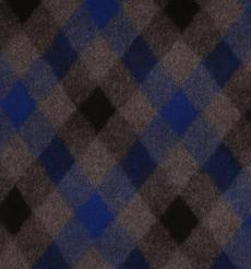 菱形 呢料 柔軟 羊毛 大衣 外套 女裝 70410-23