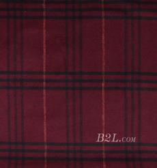 格子 呢料 柔軟 羊毛 大衣 外套 女裝 70814-5