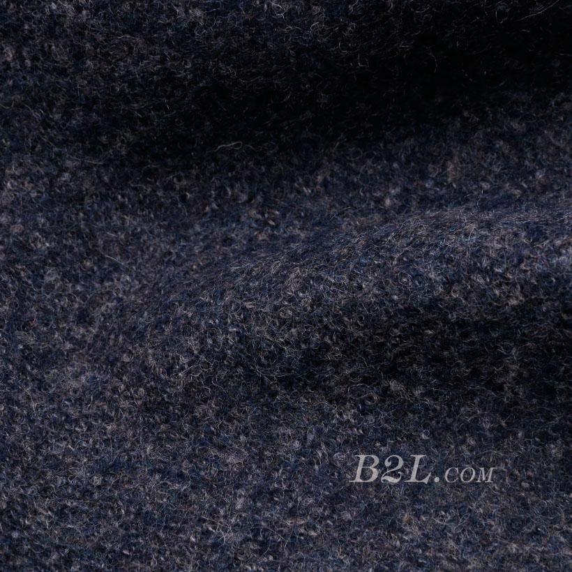 素色 针织 毛呢 厚 羊毛 大衣 低弹 外套 秋冬 男装 80311-1